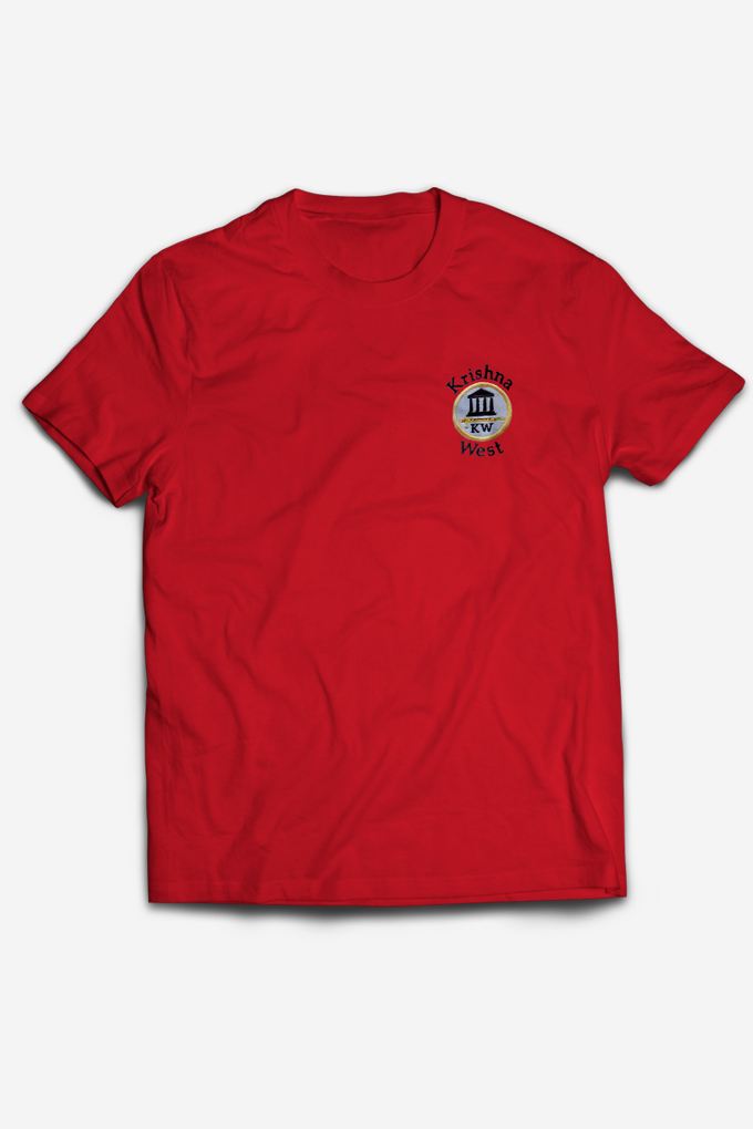 Krishna West Tee Red