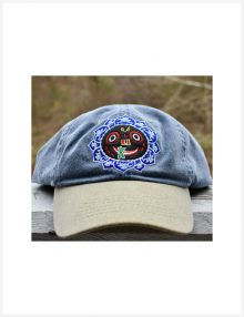 Lord Jagannatha Hat denim