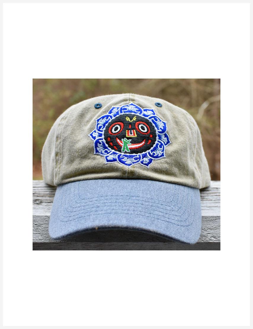 Lord Jagannatha Hat khaki