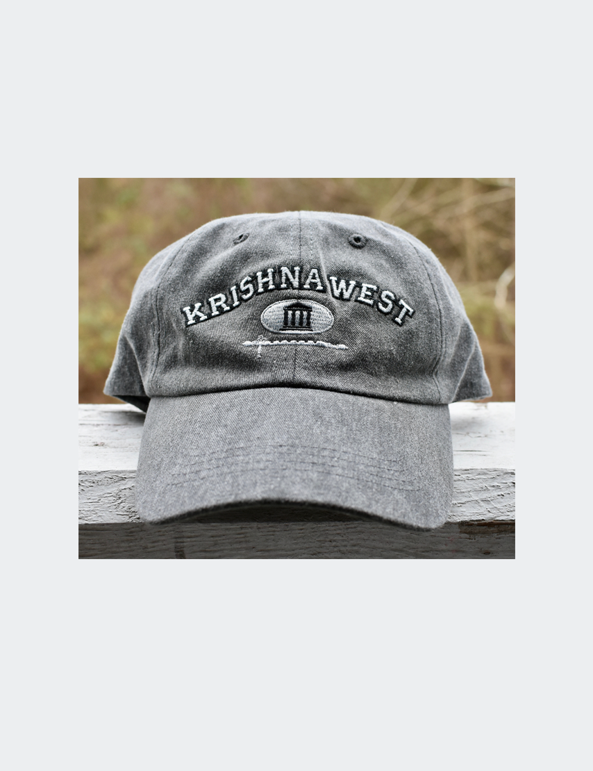 Krishna West College Logo Cap